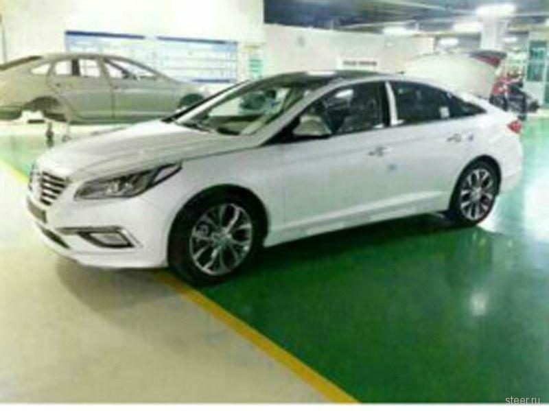 Первые фото нового Hyundai Sonata без камуфляжа