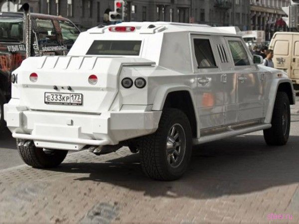 White Horse : Латвийцы изготовили очередную крепость на колесах