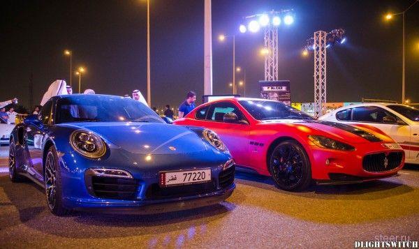 В Катаре прошел съезд суперкаров