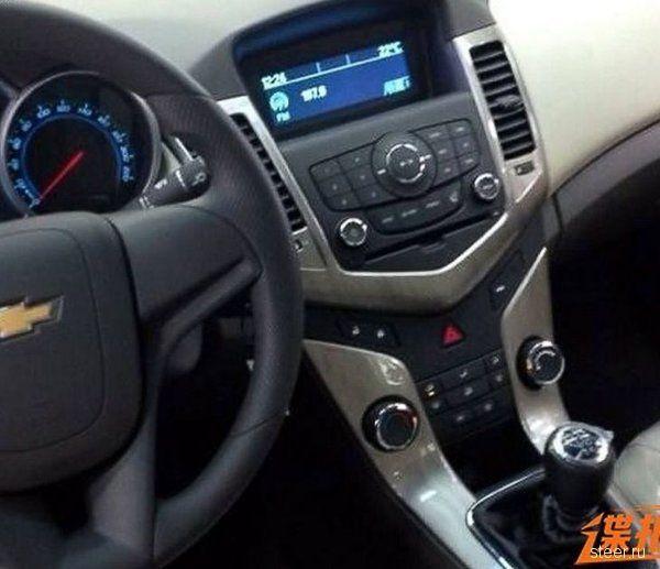 Первые фото рестайлинга Chevrolet Cruze