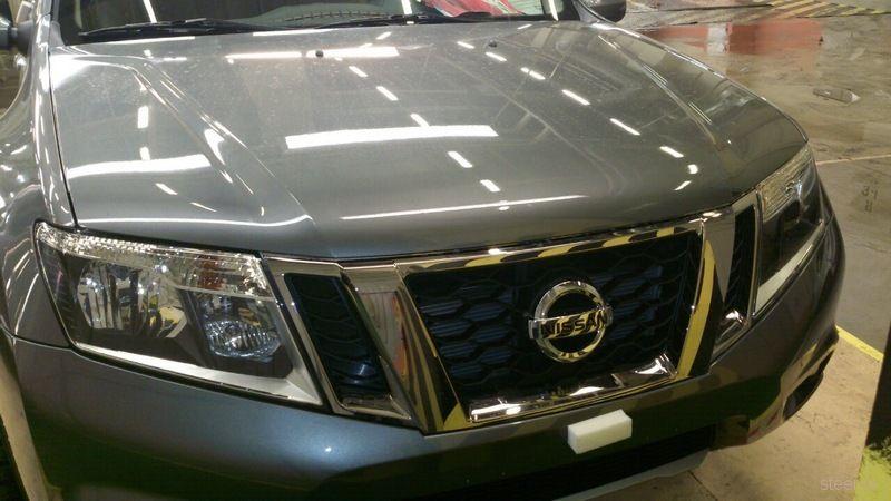 Новый Nissan Terrano сфотографировали на российском заводе