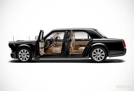 Стартовали продажи китайского лимузина за 800 тысяч долларов