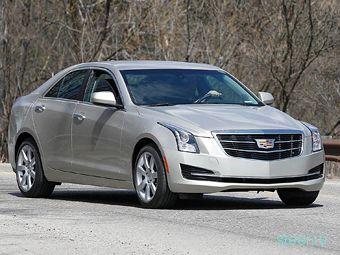 Обновленные седан Cadillac ATS и Cadillac CTS сфотографировали без камуфляжа