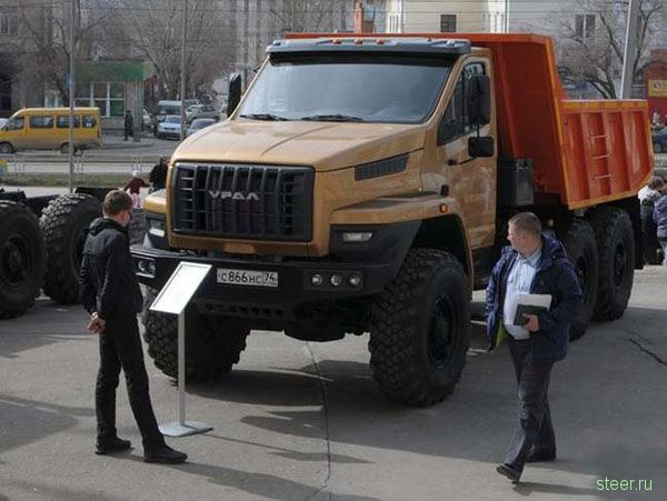 Обновлённый грузовик марки Урал удивил своей внешностью