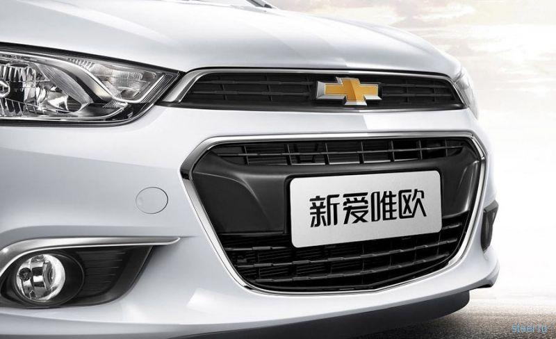 Chevrolet представил обновленный Aveo