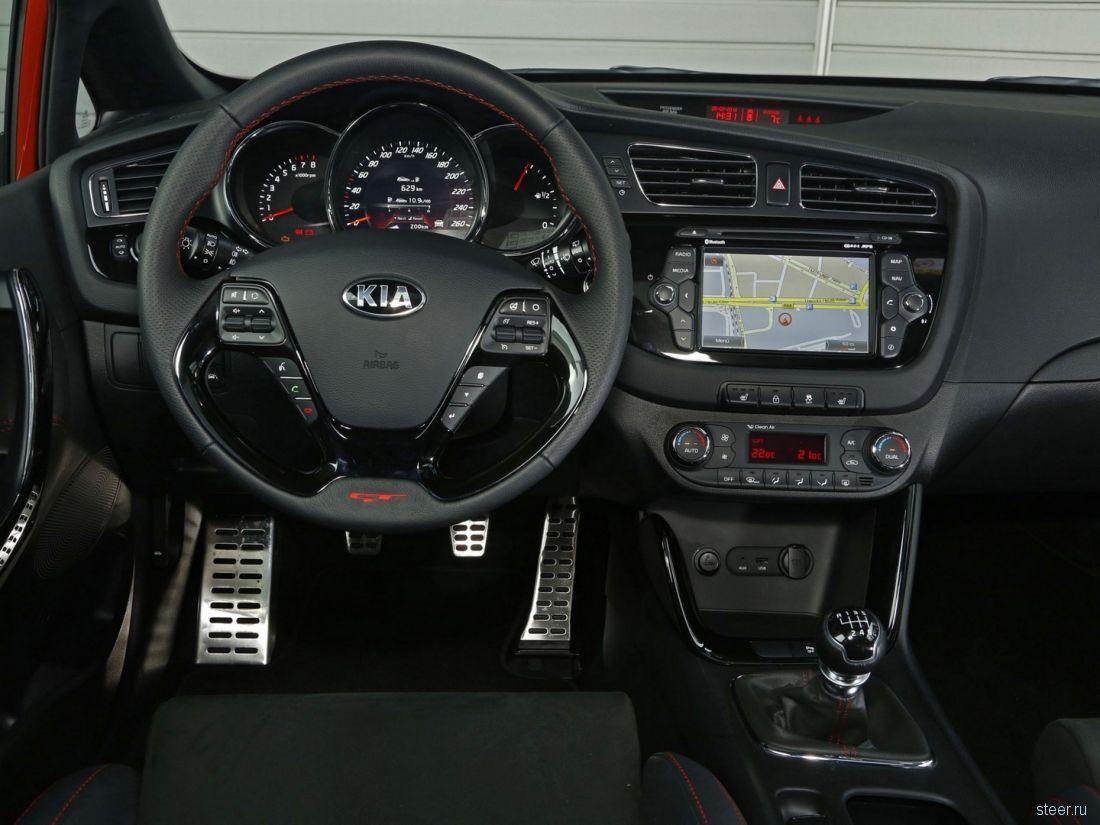 Спортивная Kia cee'd GT будет стоить в России от 949 000 рублей