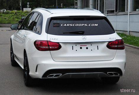 Фотошпионы «поймали» Mercedes-Benz C450 AMG Sport