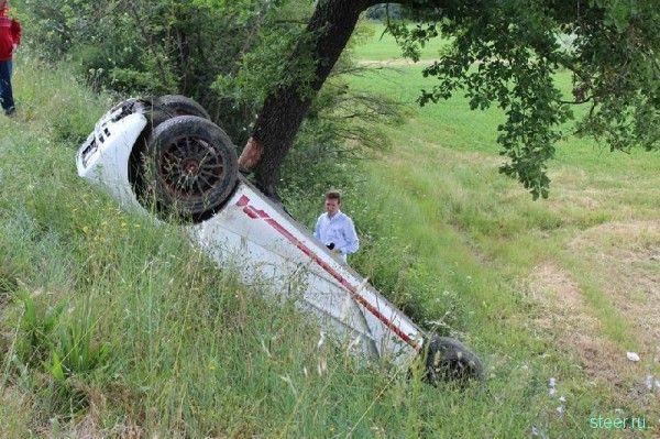 Ужасная авария суперкара McLaren F1