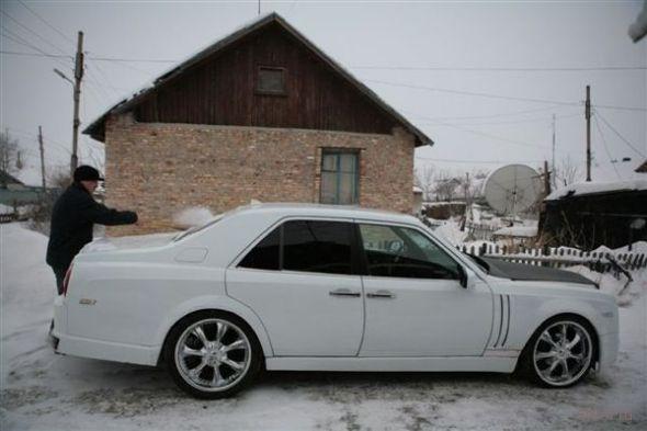 24-летний житель Шахтинска (Казахстан) Руслан Муканов создал свой собственный «Rolls-Royce Phantom».