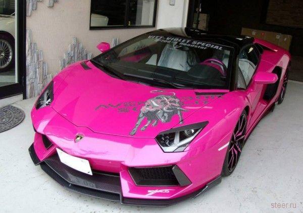 Японский тюнинг Lamborghini Aventador Roadster