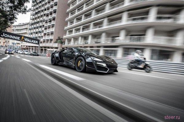 Арабский суперкар Lykan Hypersport