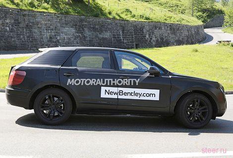 Первые фото внедорожника Bentley