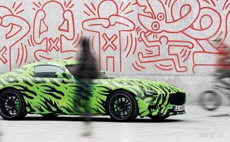 Mercedes-Benz AMG GT : конкурент Porsche 911 ?