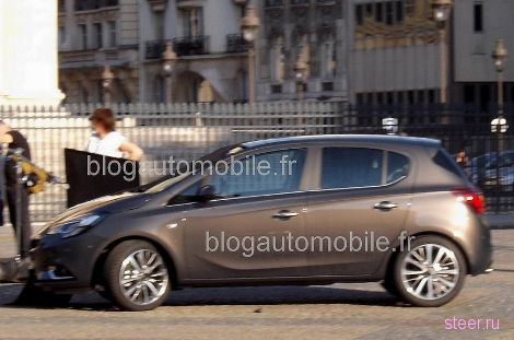 Первые фото нового Opel Corsa