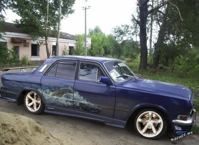 Волга - отечественный мускул-кар?
