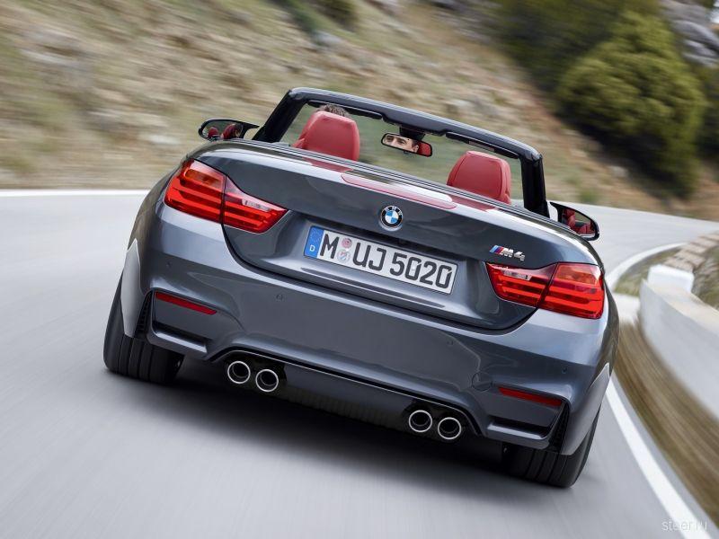 Кабриолет BMW M4 будет стоить от 3 860 000 рублей