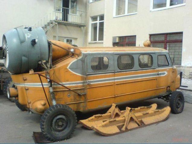 Самые интересные советские транспортные концепты