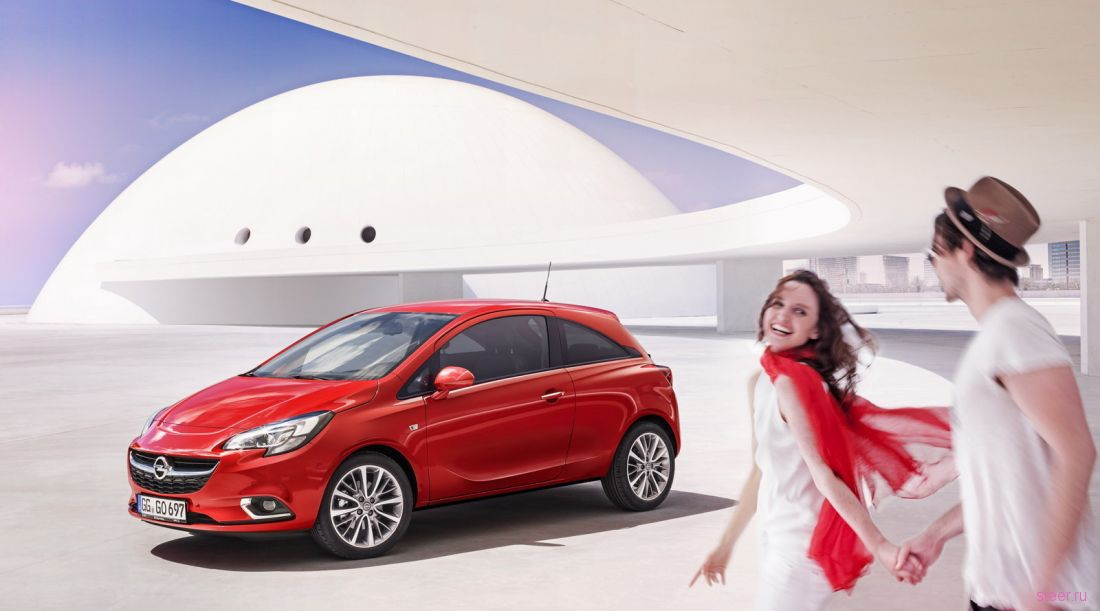 Представлено пятое поколение хетчбэка Opel Corsa