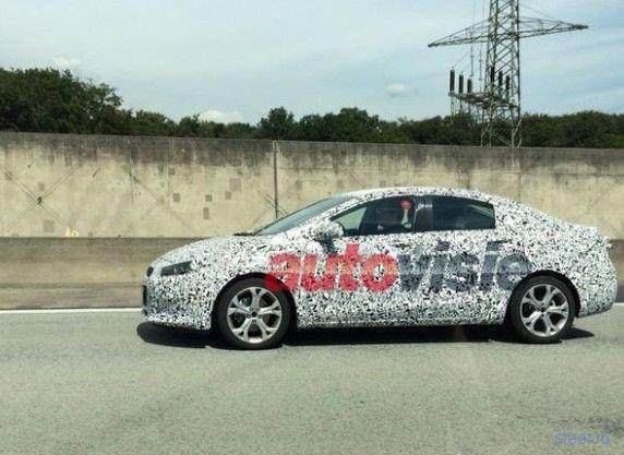 Первое фото нового седана Opel Astra