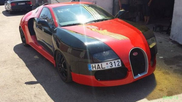 Bugatti Veyron из Audi A6