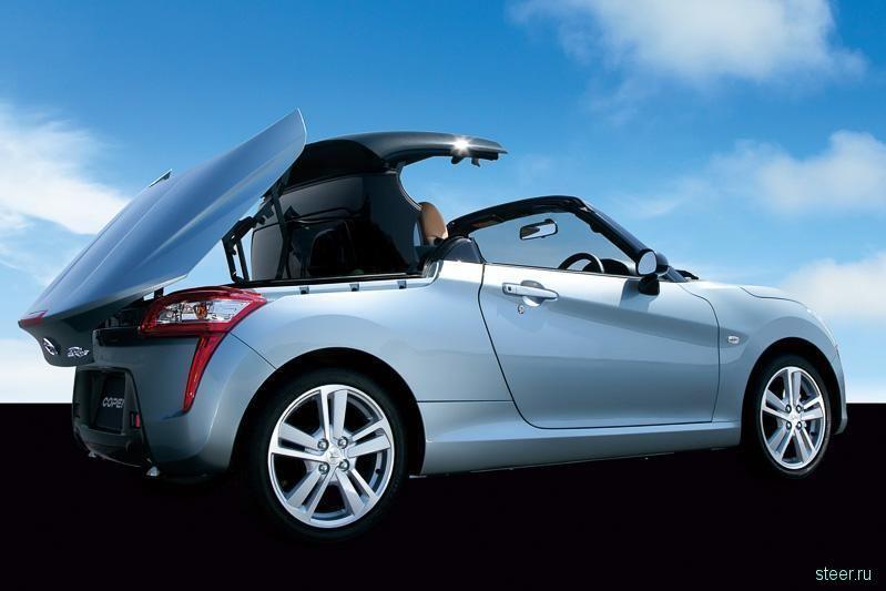 Продажи нового поколения родстера Daihatsu Copen почти в 6 раз превзошли прогнозы