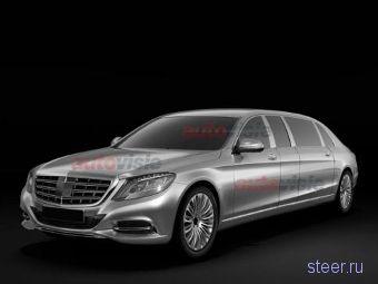 Первые изображения самого дорогого Mercedes-Benz S-Class Pullman