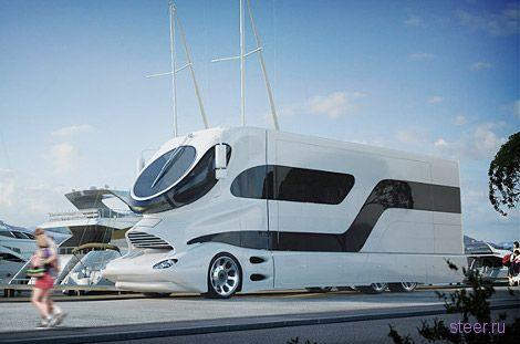 Самый дорогой в мире дом на колесах за 3 млн долларов