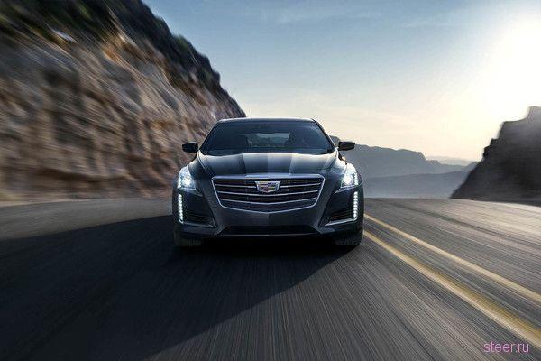 Первые официальные изображения обновленного Cadillac CTS