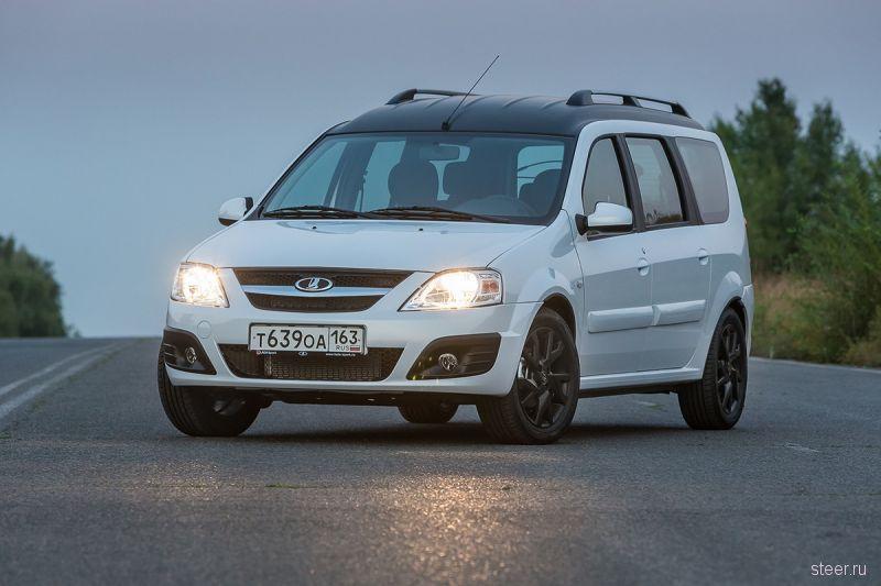 «АвтоВАЗ» выпустил первые 36 Lada Cross и показал Lada Largus VIP для руководства компании