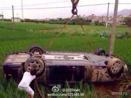 В Китае разбили Rolls-Royce Phantom