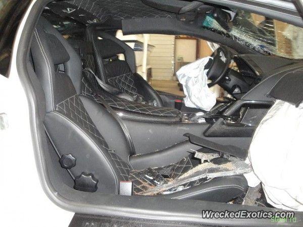 20-летний американец разбил Lamborghini Murcielago