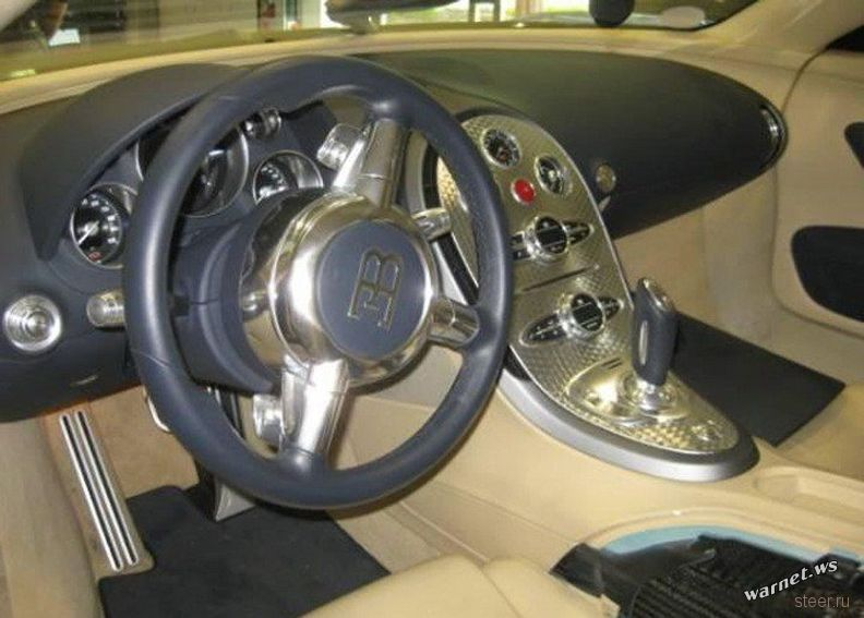 Зачем подкупать битый Bugatti Veyron?