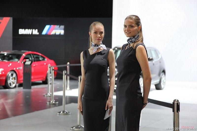 Девушки Московского автосалона 2014