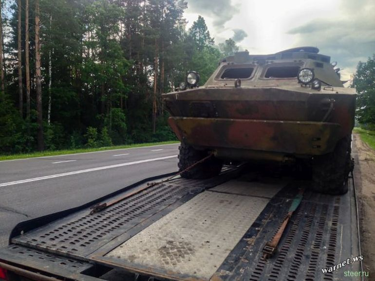 История покупки и доставки в Россию одного броневика
