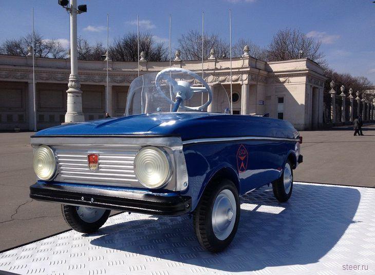 Мечта советского детства : педальные автомобили