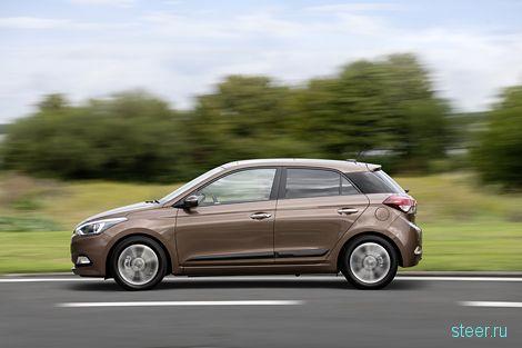 ОФициально представлен новый хэтчбек Hyundai i20