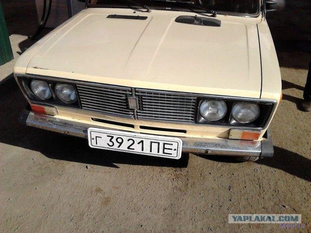 Автомобиль из СССР 1986 Года выпуска.