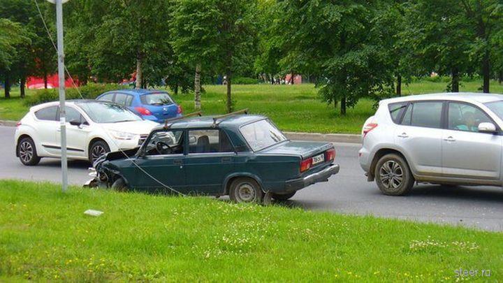 Разбили Chevrolet Camaro