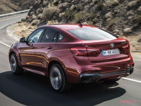 BMW объявили российские цены на новый X6