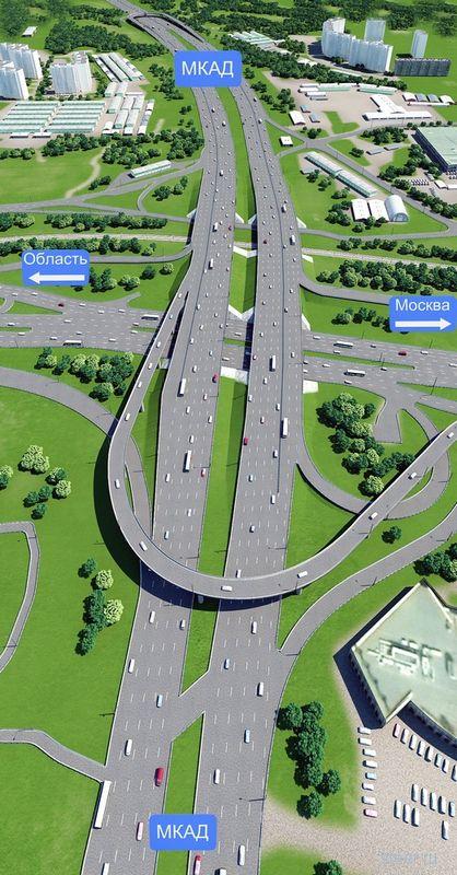 Реконструкция Волоколамское шоссе : уже в этом году