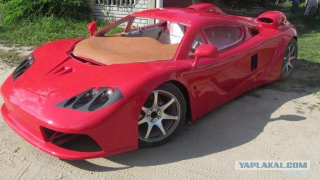 Беларус продает реплику McLaren F1 из Peugeot за 38 000 долларов