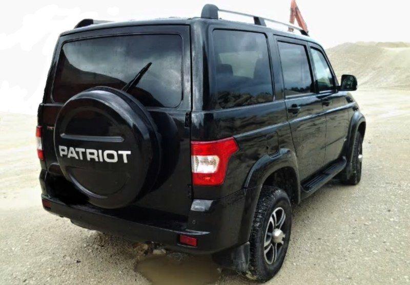 Новые фотографии обновленного UAZ Patriot