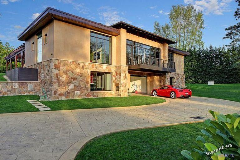 Красивые дома дизайн фото