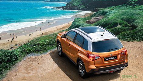 Suzuki возродила вседорожник Витара