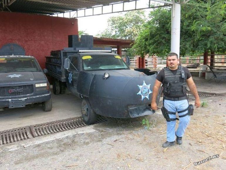 Самодельные броневики мексиканской наркомафии