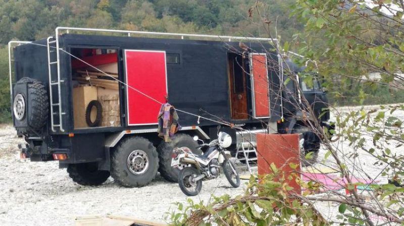 Дом на колесах на базе Камаза