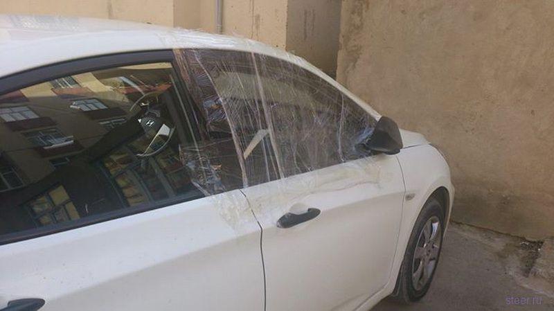 Автовладелец испытал ярость, перешедшую в радость