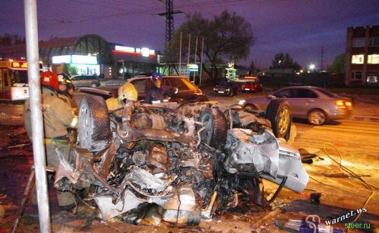 Жестокая авария в Санкт-Петербурге
