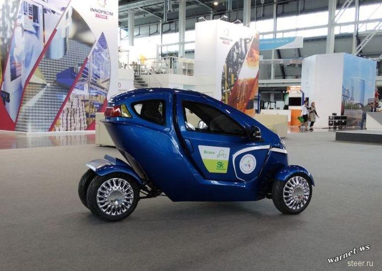 Российский концепт городского электрокара Bravo eGo отправится в серийное производство