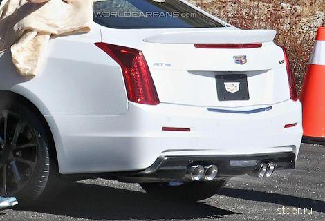 Первые фото конкурента BMW M4 от Cadillac